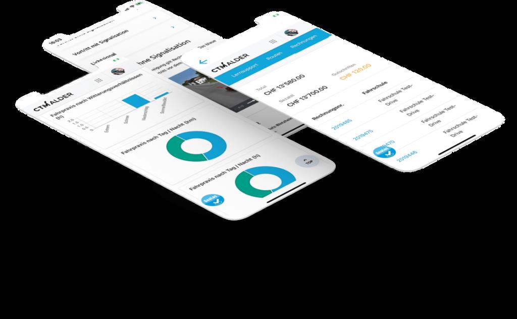Entwicklung von iOS und Android Apps durch CTM Alder AG in Solothurn.